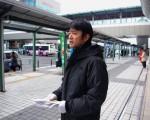 和泉中央駅駅立ち_森かずとみ
