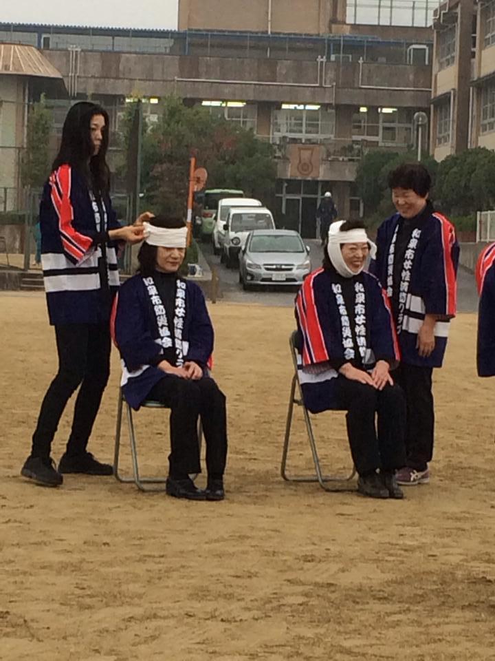 和泉市地域防災訓練_森かずとみ2
