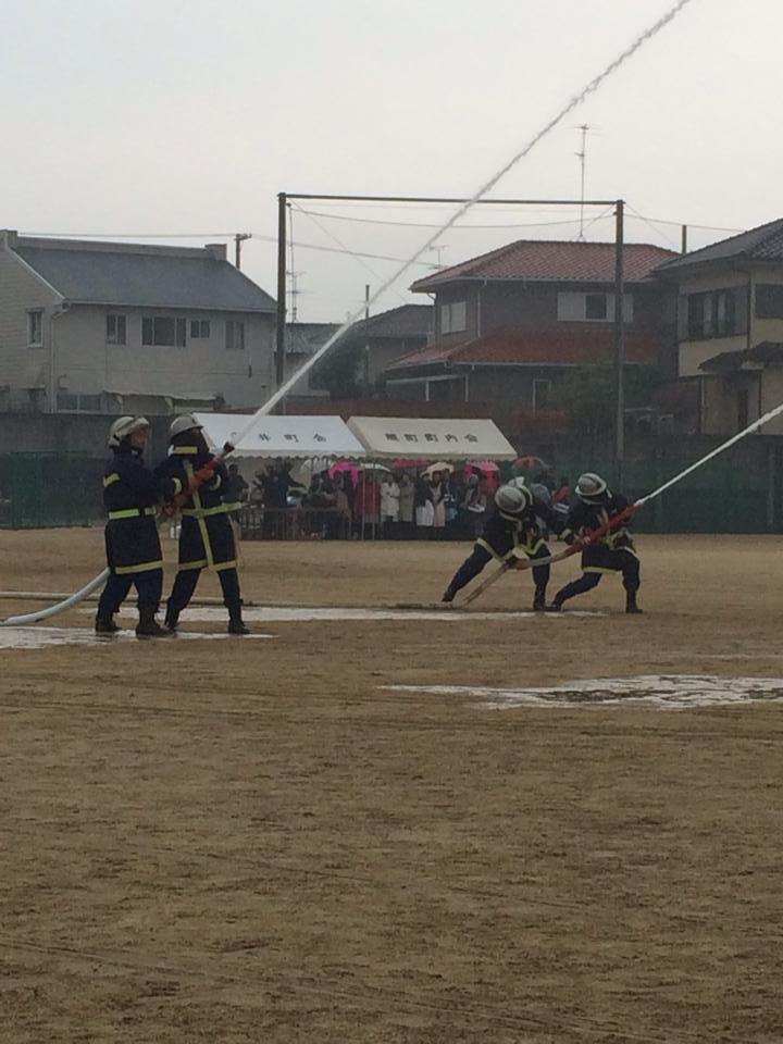 和泉市地域防災訓練_森かずとみ3