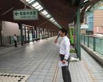 和泉中央駅立ち20140922_森かずとみ1