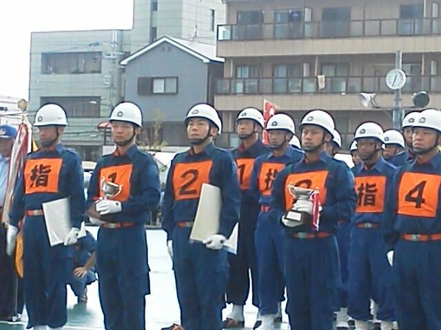 大阪府消防操法訓練大会_森かずとみ1