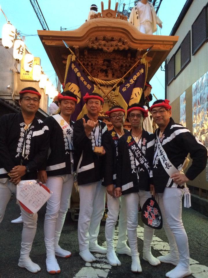 東泉寺だんじり祭り2014_森かずとみ